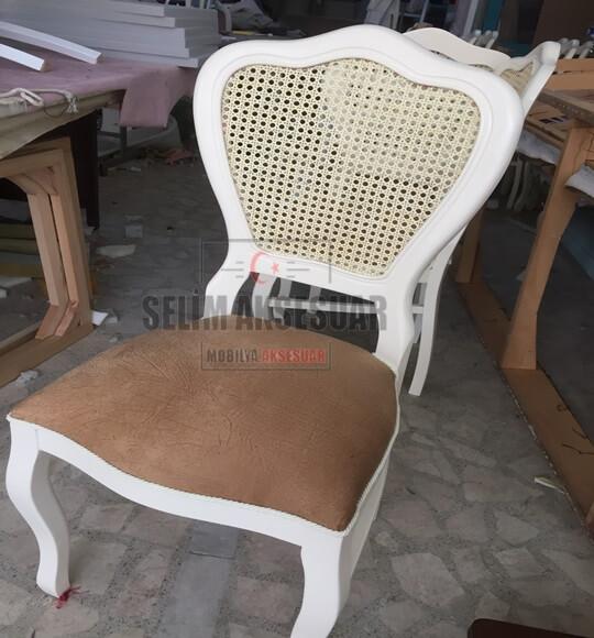 Pera Sandalye Hasırlı